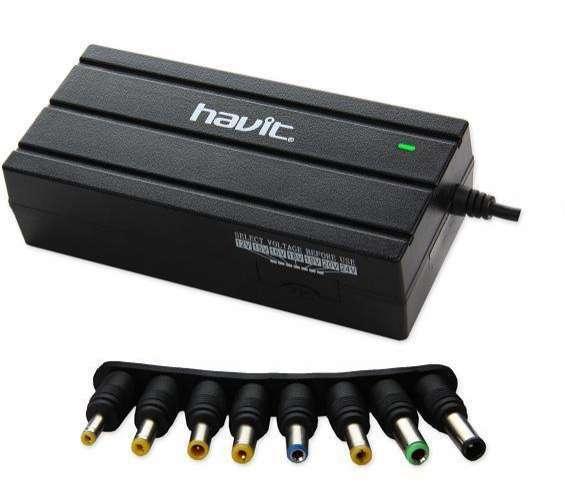 Cargador universal para notebook Havit 90W 12V-24V - 0