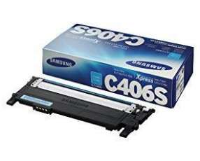 Tóner Samsung C406s cyan series CLP-36X/ CLX-330X C41X/ C46X