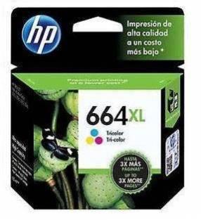 Cartucho de tinta HP 664 color XL