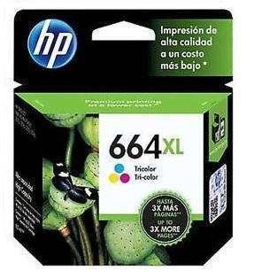 Cartucho de tinta HP 664 color XL - 0