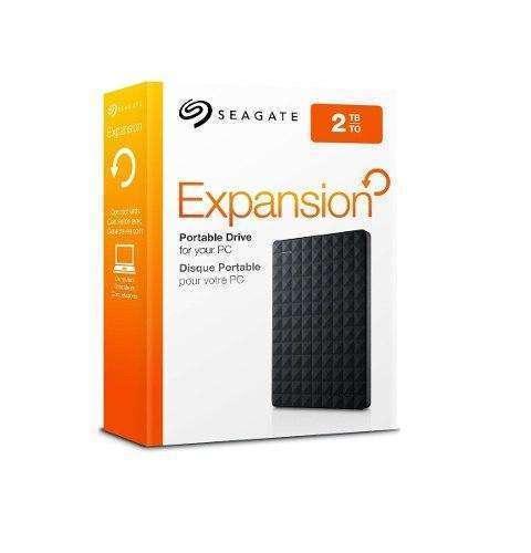 Disco duro externo 2 tera Seagate byte usb 3.0. - 0