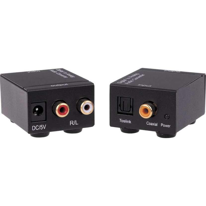 Conversor de audio óptico a rca - 0