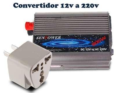 Inverter transformador 12V a 220V 300W - 0