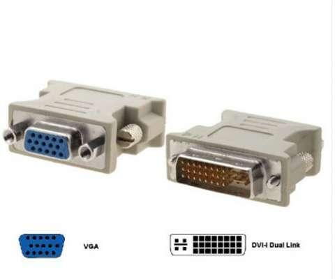Conversor dual, Link Analógico, DVI A VGA.