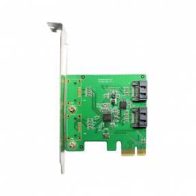 Tarjeta PCI express a sata 2 puertos internos