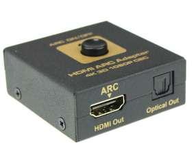 Conversor divisor de hdmi a hdmi/audio optico microfins.