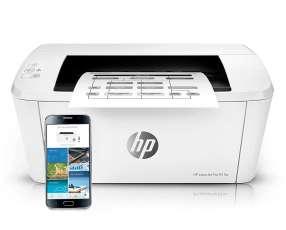 Impresora laser hp m15w monocromática