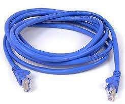 Cable de red 3 metros categoría 5 - 0