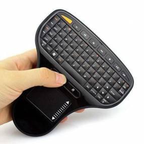 Mini teclado inalámbrico usb n5903 con panel táctil