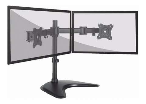 Soporte de mesa para 2 monitores elg t1224n 17