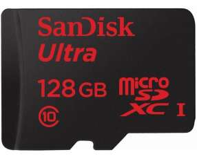 Memoria micro sd 128gb. Sandisk class 10 80mbps