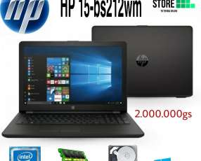 Notebook hp 15-bs212wn
