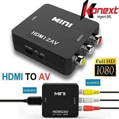 Conversor HDMI A RCA - 2