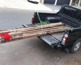 Hierro mazico riel especial para la construcción de 3 metros