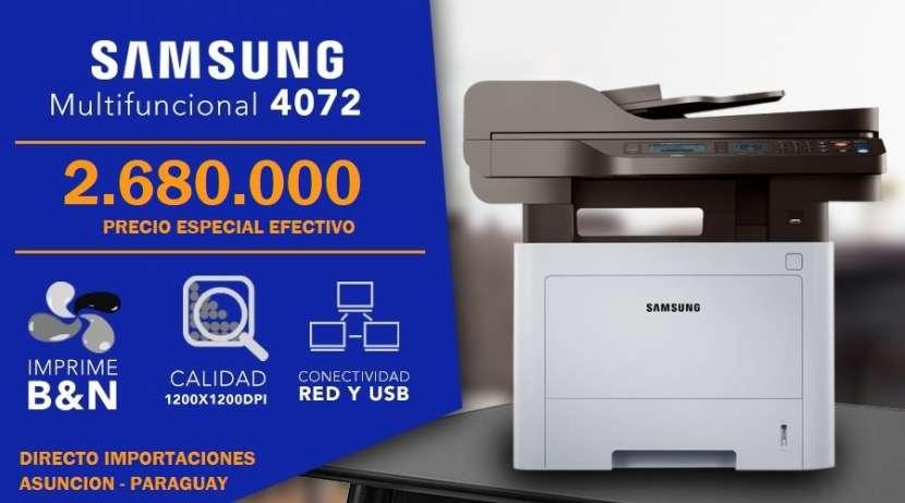 Fotocopiadora Impresora Multifunción Samsung 4072 - 0