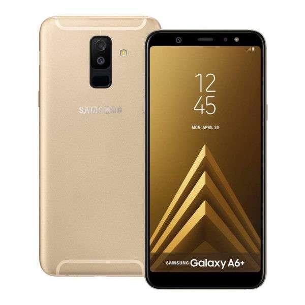 Samsung Galaxy A6 plus 2018 dorado de 32 gb - 1