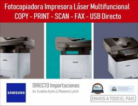 Fotocopiadora Impresora Multifunción Samsung 4072