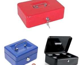 Cajas para guardar dinero con llave