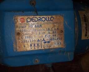Motobomba de 3 hp pedrollo