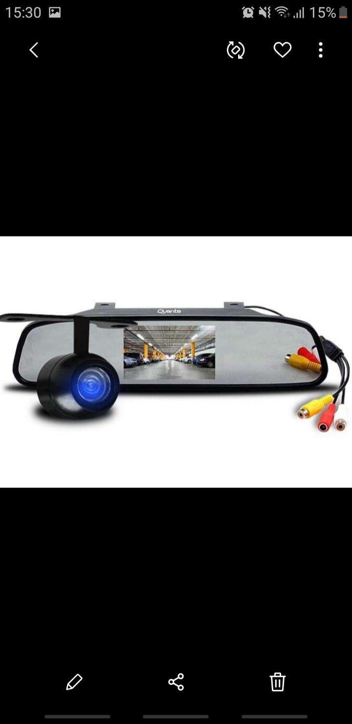 Cámara de reversa con pantalla LCD - 0