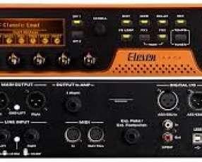 Pro Tools Eleven Rack Grabador de guitarra y efectos