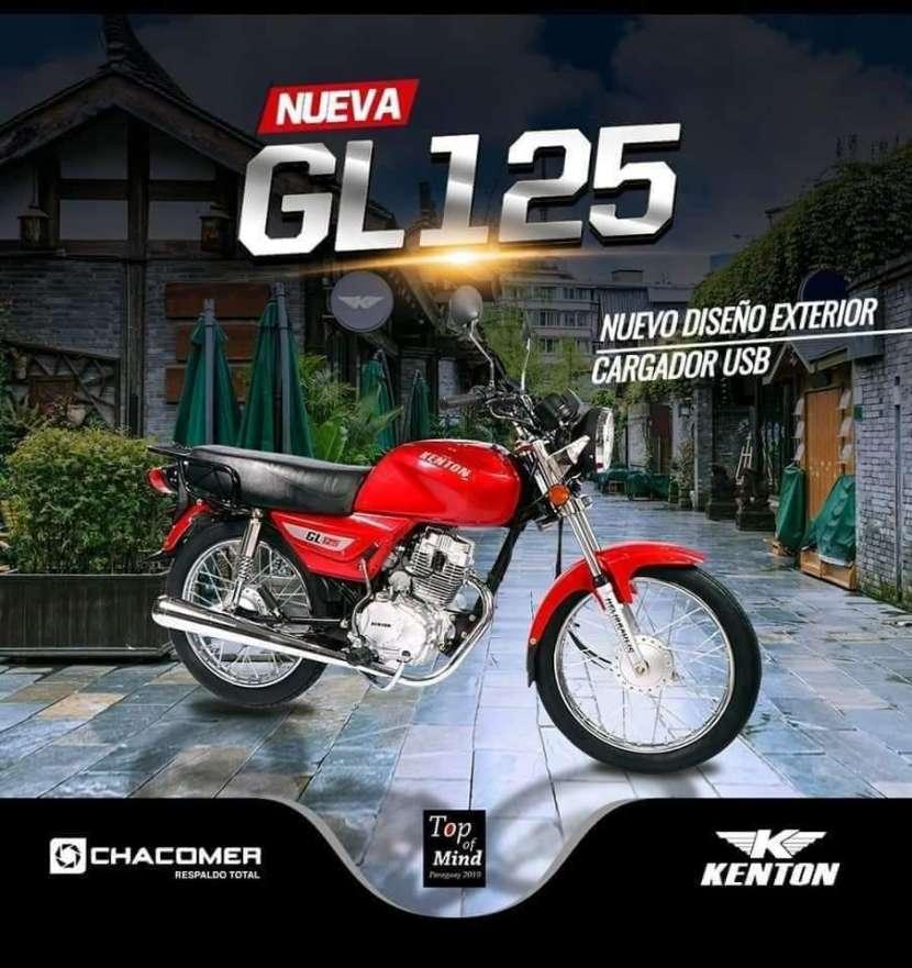 Moto Kenton y Yamaha - 1