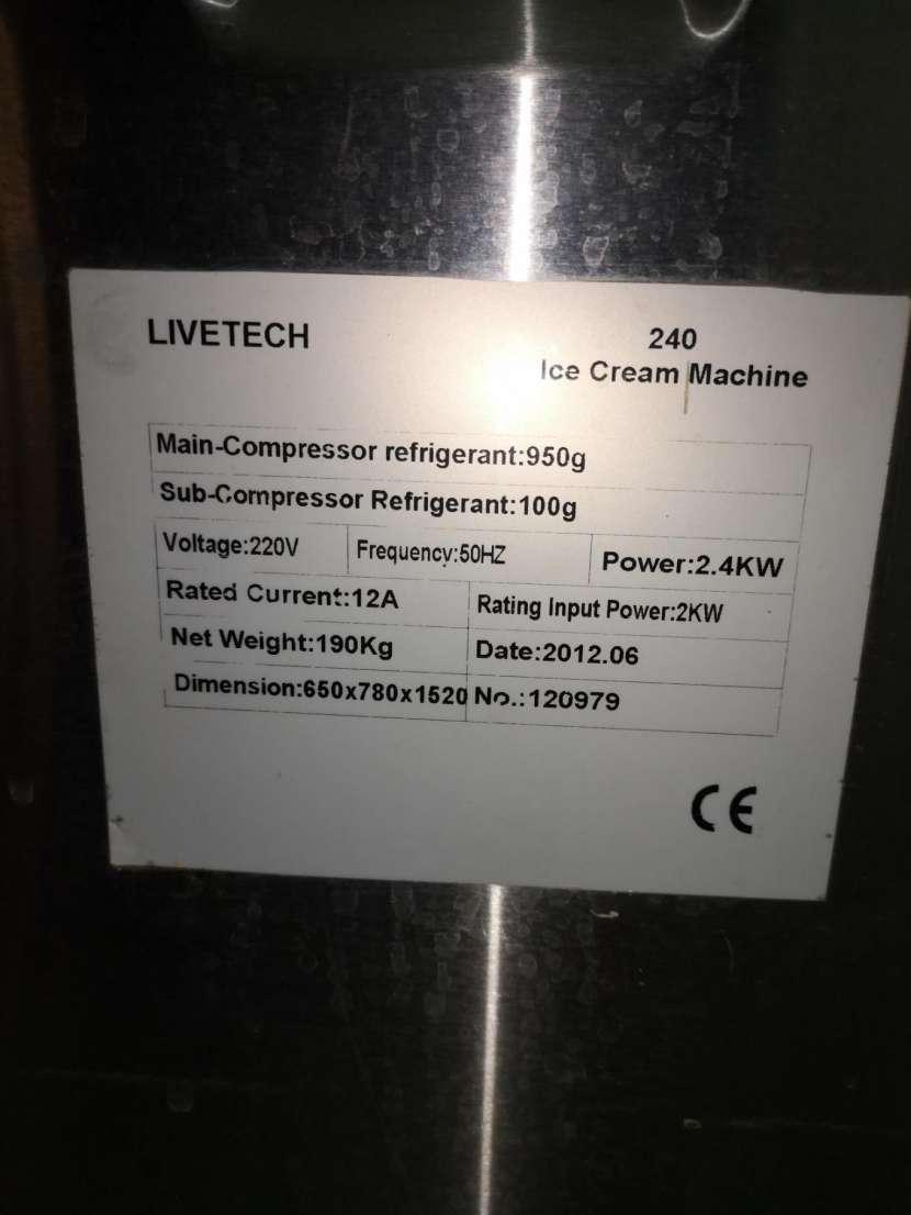 Máquina de helados soft livetech - 0