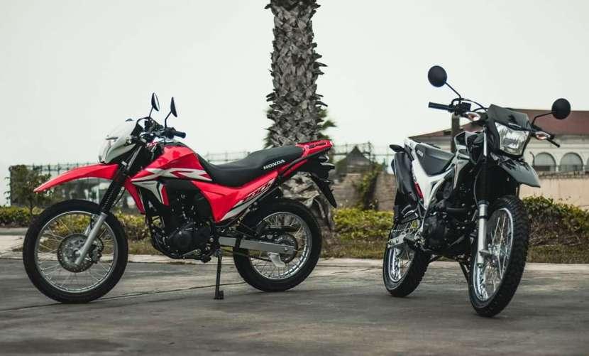Moto Honda XR190L - 1