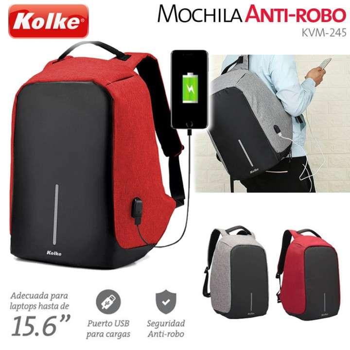 Mochila Antirrobo Kolke KVM-245 - 0