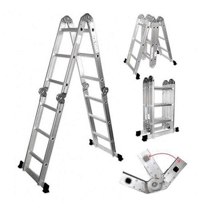 Escalera plegable para andamios de plataforma multipropósito - 0