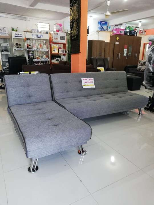 Sofá cama capuleto gris - 3