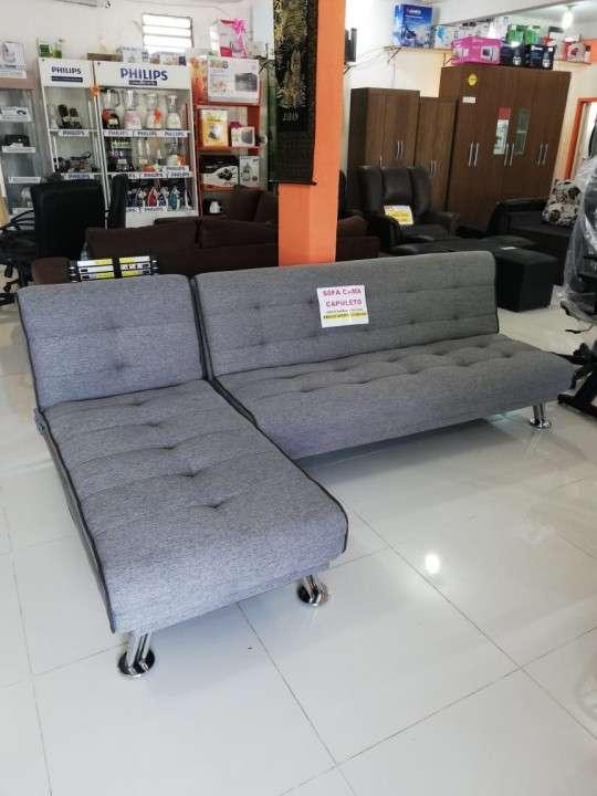 Sofá cama capuleto gris - 2