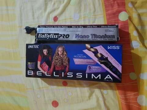 Planchita Babyliss Pro nano titanium + Bellissima RICCI & CURL - 2