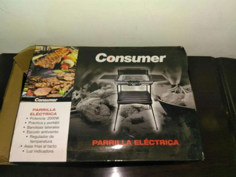 Parrillita eléctrica - 0