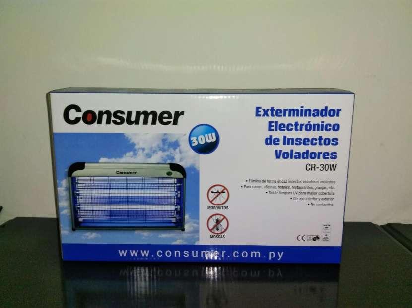 Matamoscas eléctrico de 30 watts - 0