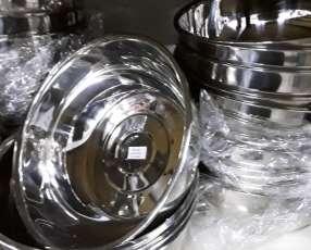 Bowls en acero inoxidable