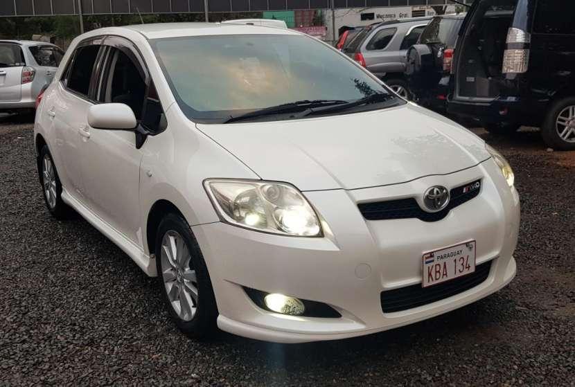 Toyota auris 2008 1.8 4x2 blanco perlado..llantas de magnesio... - 0