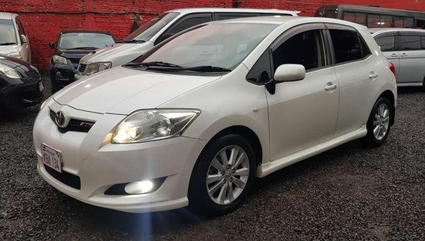 Toyota auris 2008 1.8 4x2 blanco perlado..llantas de magnesio... - 2