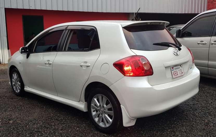Toyota auris 2008 1.8 4x2 blanco perlado..llantas de magnesio... - 3