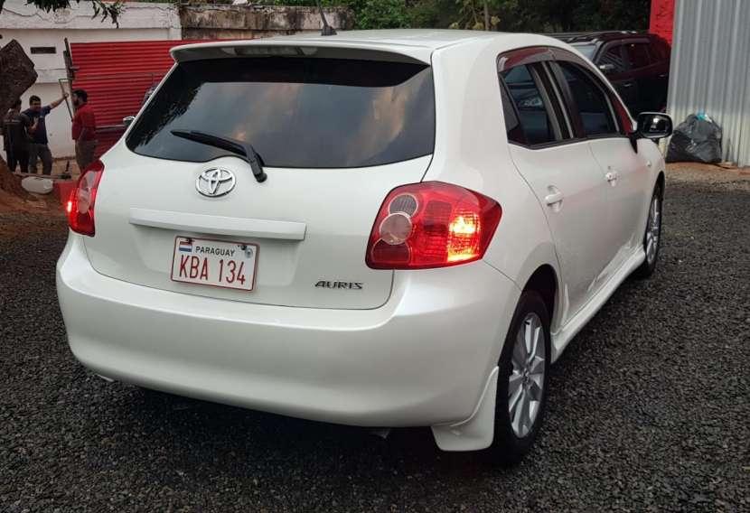 Toyota auris 2008 1.8 4x2 blanco perlado..llantas de magnesio... - 5