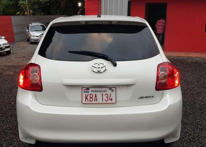 Toyota auris 2008 1.8 4x2 blanco perlado..llantas de magnesio... - 9