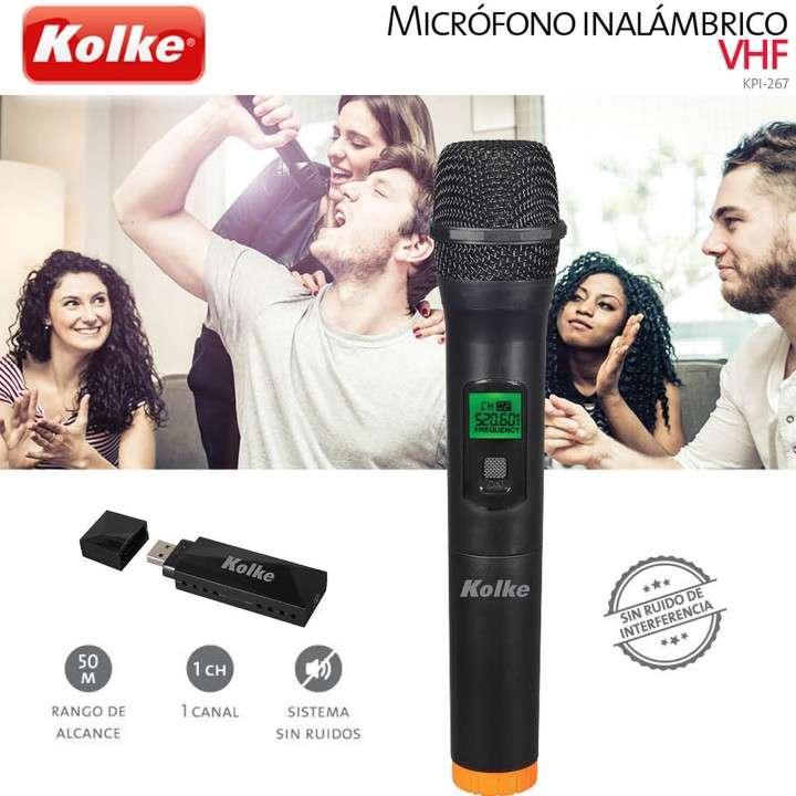 Micrófono Inalámbrico VHF Kolke KPI-267 - 0