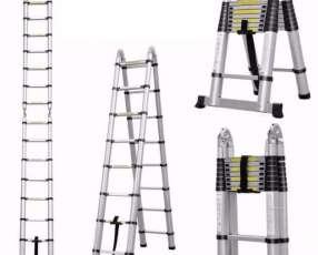 Escalera telescopica de aluminio multiproposito 5 metros