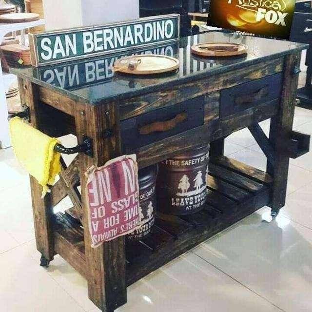 Mesa comedor de madera - 8