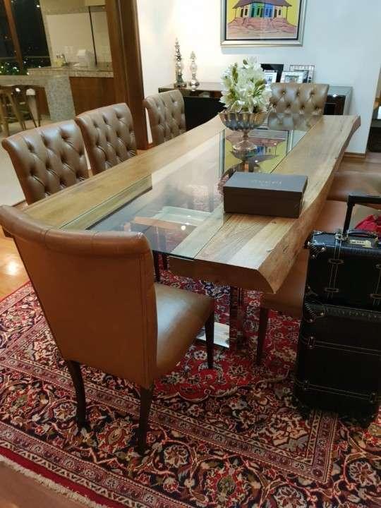 Mesa comedor de madera - 4