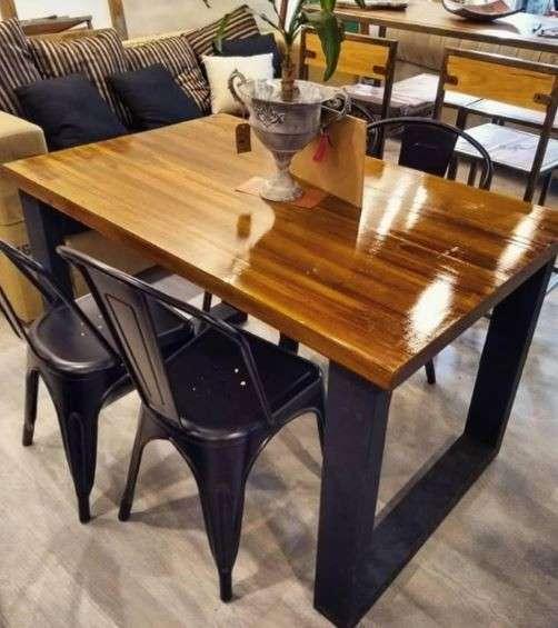 Mesa comedor de madera - 3