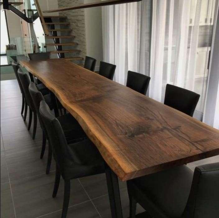 Mesa comedor de madera - 2