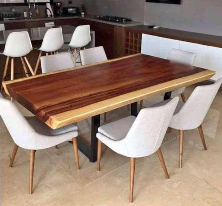 Mesa comedor de madera - 6