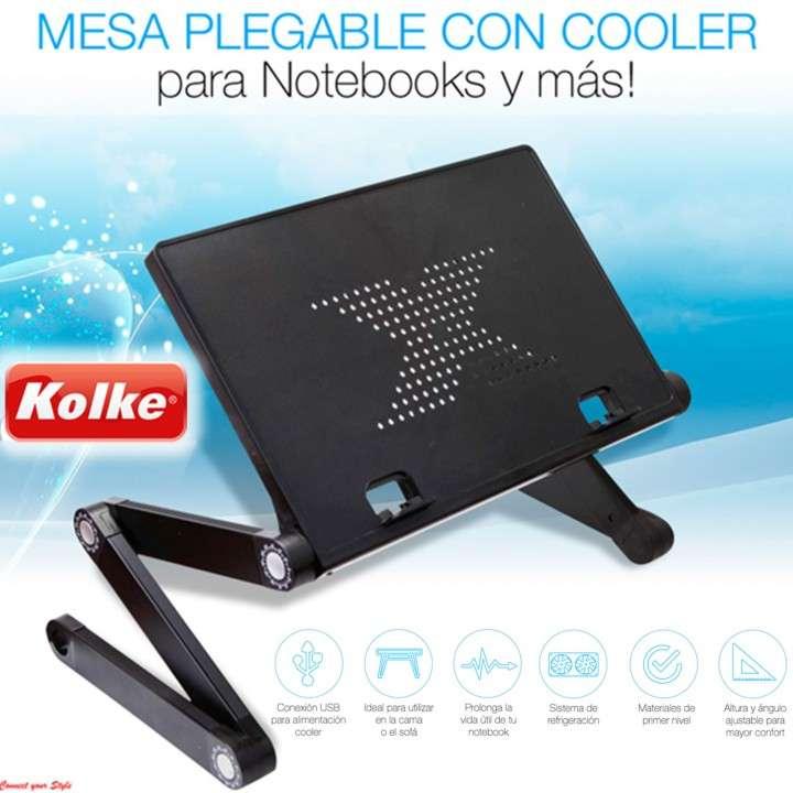 Mesa Cooler Plegable para Notebook Kolke KAN-105 - 0