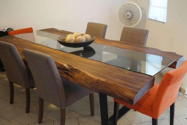 Mesa comedor de madera - 0